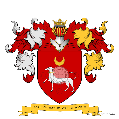 Coat of Arms of family Texier d'Hautefeuille