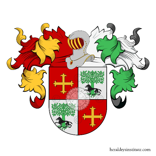 Coat of Arms of family Berro
