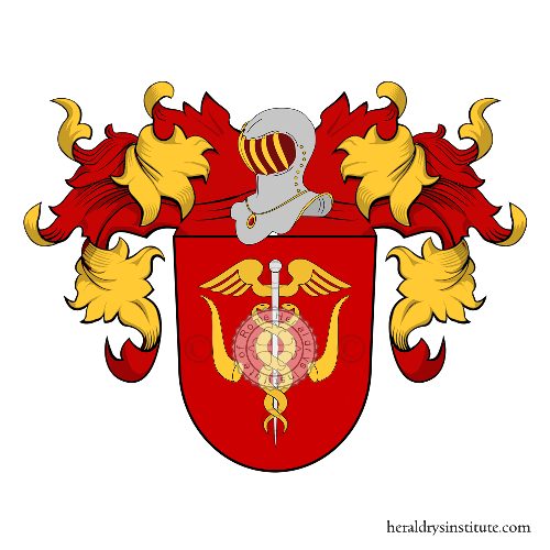 Coat of Arms of family Bleiber