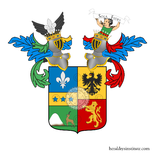 Coat of Arms of family Camozzi de Gherardi Vertova