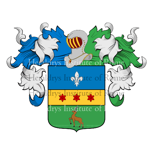 Coat of Arms of family Camozzi de Gherardi