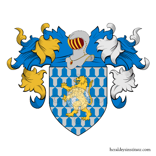Coat of Arms of family Macedonio