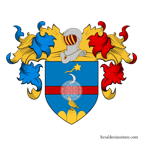 Coat of Arms of family Rossoni