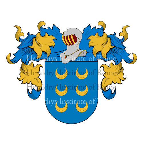 Coat of Arms of family Homem