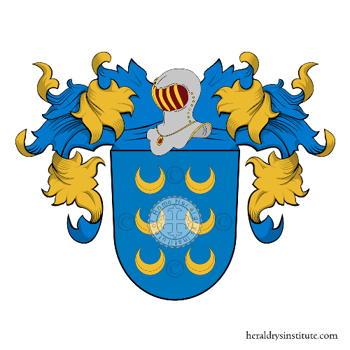 Coat of Arms of family Homen