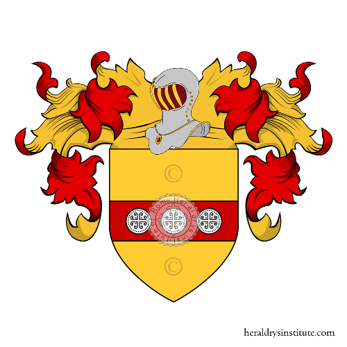 Coat of Arms of family Bezzetti