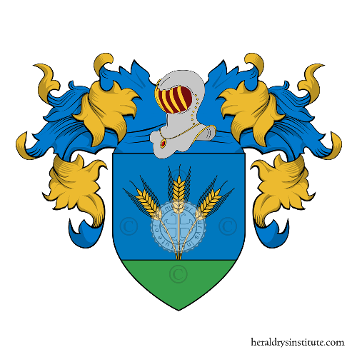 Coat of Arms of family Daneluzzi