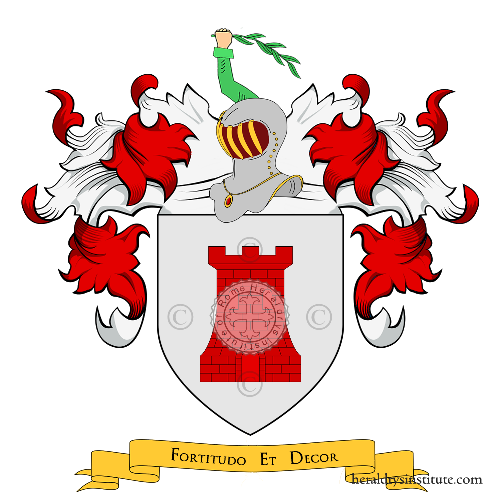 Coat of Arms of family Margheri
