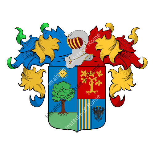 Coat of Arms of family Laurentis