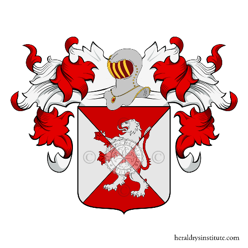 Coat of Arms of family Giudi