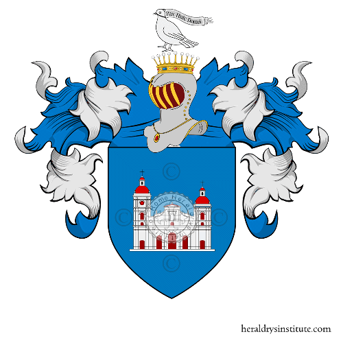 Coat of Arms of family Borgarelli
