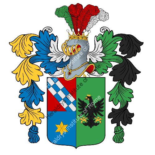 Coat of Arms of family Pancera