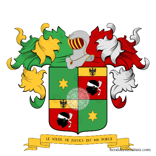 Coat of Arms of family du Praz