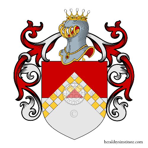 Coat of arms of family Facco