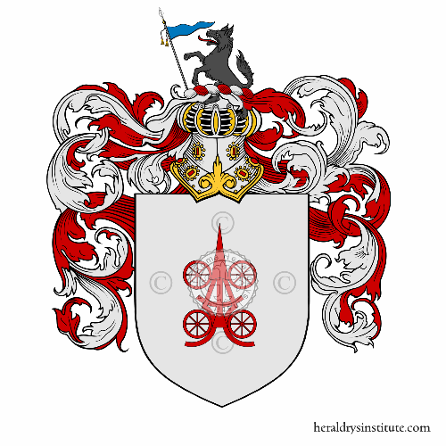 Coat of Arms of family Carrara