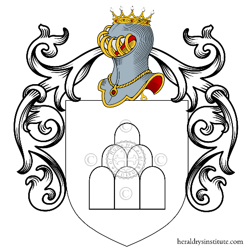 Coat of Arms of family Simone