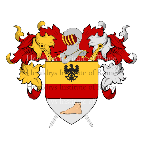 Coat of Arms of family Pezzoli
