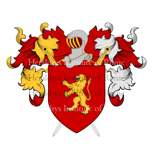 Coat of Arms of family Pazzola