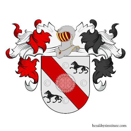 Coat of Arms of family Viudes
