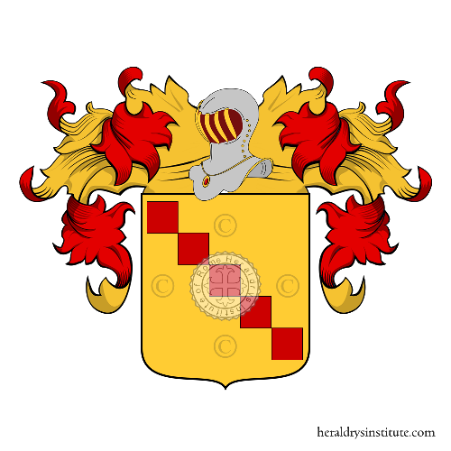 Coat of Arms of family Travagli