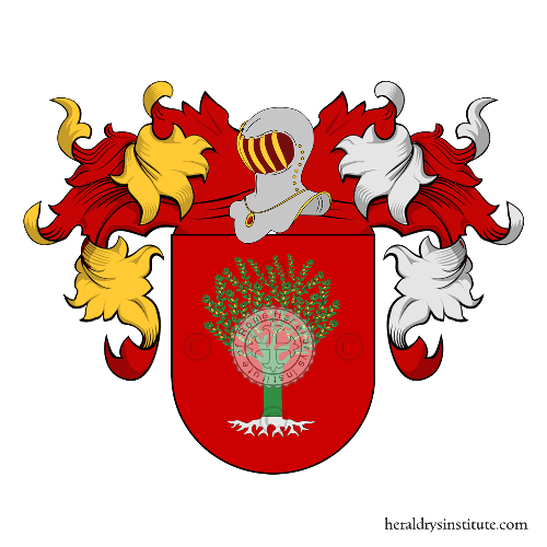 Coat of Arms of family Olival