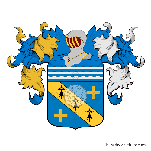 Coat of Arms of family Auteroche