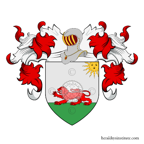 Coat of arms of family Piana