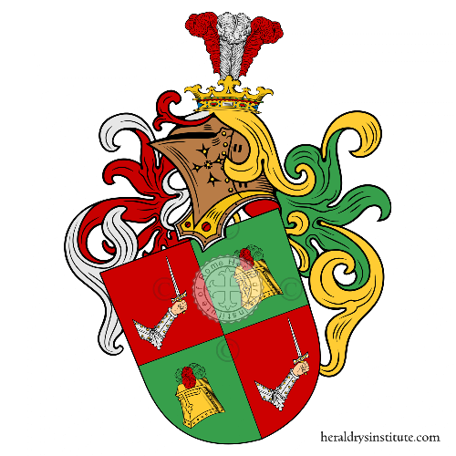Coat of Arms of family Rüppel de Helmschwerd