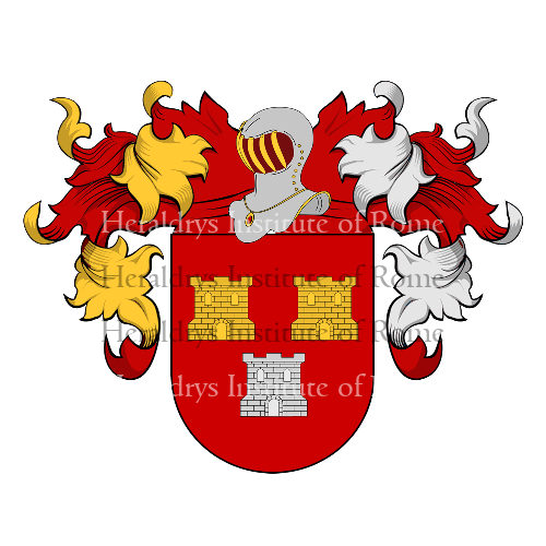 Coat of Arms of family Amorin
