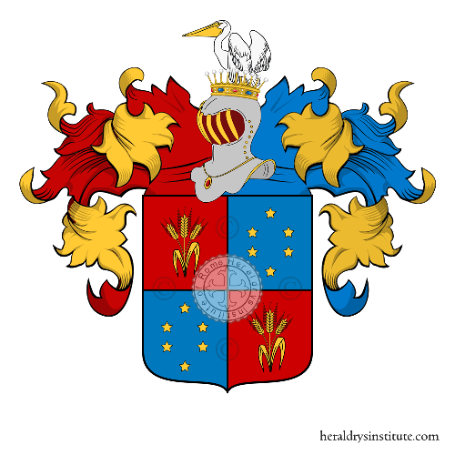 Coat of Arms of family Messerati