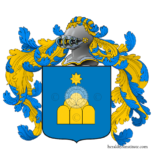 Coat of Arms of family Neromonte