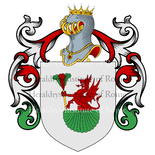 Coat of Arms of family Rossa
