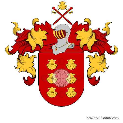 Coat of Arms of family Vieira