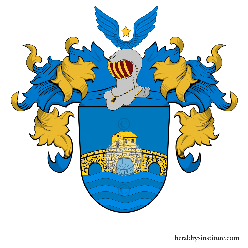 Coat of arms of family Pareto ref: 21206