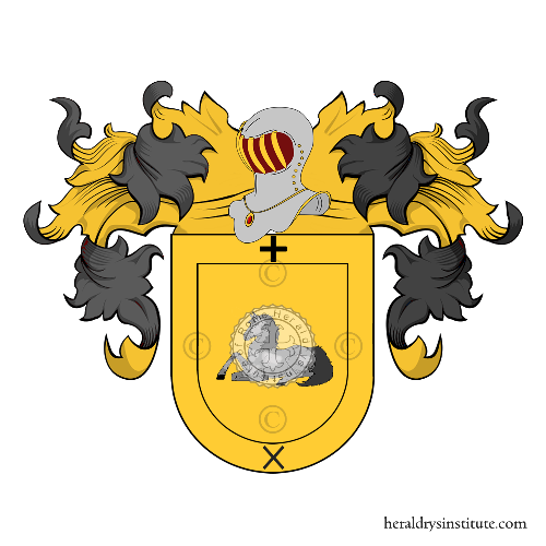 Coat of Arms of family Mandia