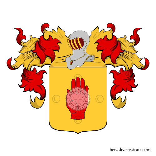 Coat of Arms of family Mano