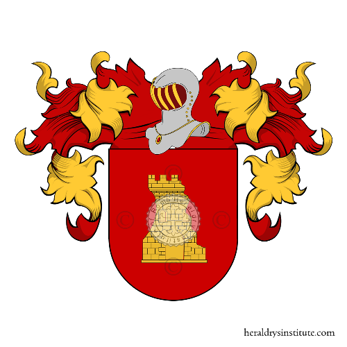 Coat of Arms of family Tomé