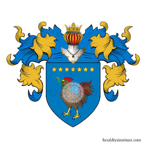 Coat of Arms of family Gallo (del)