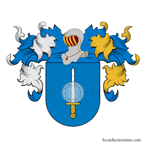 Coat of Arms of family Seguìn