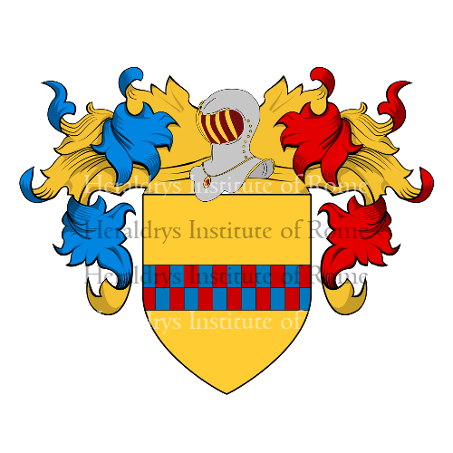 Coat of arms of family Vielmo