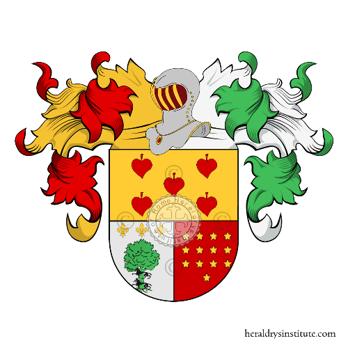 Coat of Arms of family Montiano