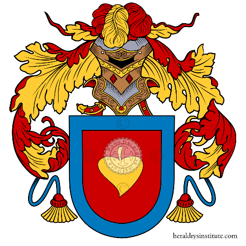 Coat of Arms of family Pirron
