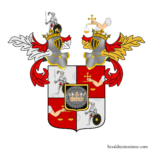 Coat of Arms of family Manfroni di Manfort