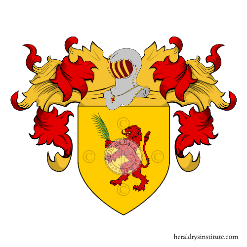 Coat of arms of family Giafaglione