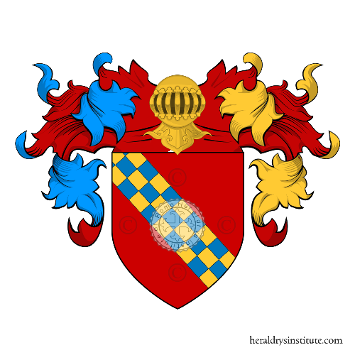Coat of arms of family Tomacelli