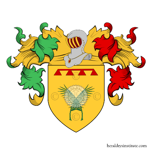Coat of Arms of family Palmieri da Figline