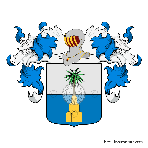 Coat of Arms of family Palmieri di Maffio