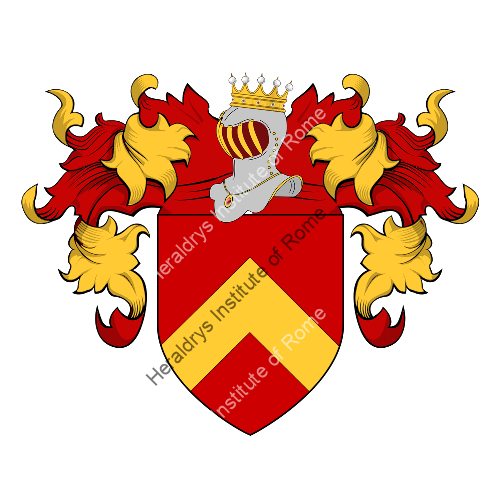 Coat of Arms of family Mabillon