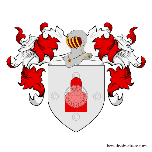 Coat of Arms of family Aresini