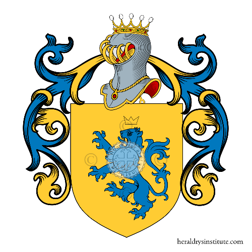 Coat of Arms of family Salvatore (San)